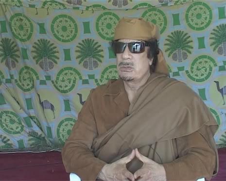 لقاء قناة روسيا اليوم مع القذافي  .... 233