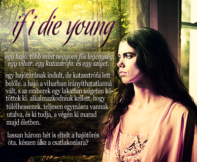 If I die young~ Hirdetes-2