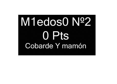 GANTZ/CHILE 2 Miedoso2-9