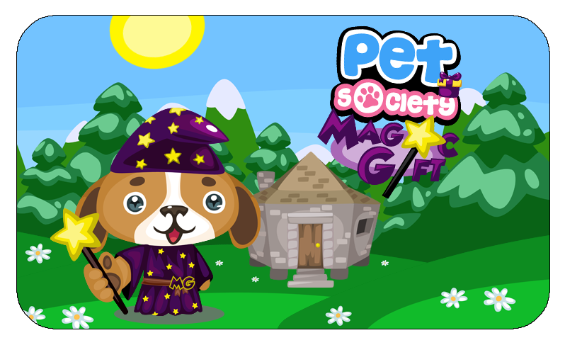 Pet Society Magic Gift