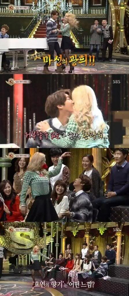 "[27012013][News]Hyoyeon (SNSD) và Kwanghee (ZE:A) suýt ""môi kề môi"" khi nhảy Tango Hyoyeon-snsd-va-kwanghee-zea-suyt-moi-ke-moi-khi-nhay-tango_zpsef2e18d8"