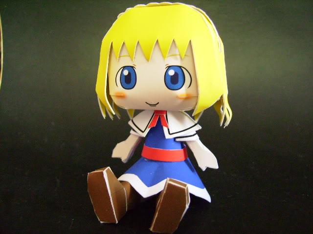 "Touhou Papercraft - Chơi figure kiểu ""con nhà nghèo"" Alice"