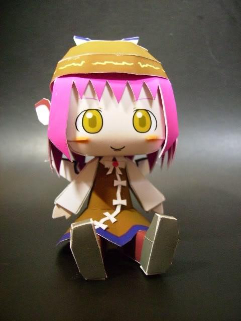 """Touhou Papercraft - Chơi figure kiểu """"con nhà nghèo"""" Mystia"""