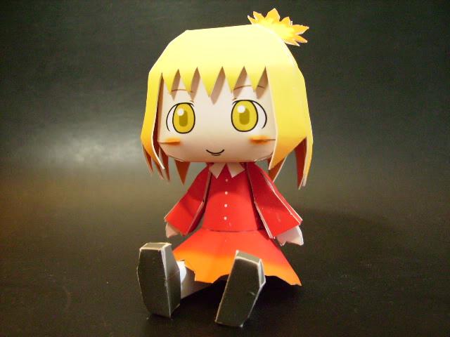 "Touhou Papercraft - Chơi figure kiểu ""con nhà nghèo"" Shizuhaaki"