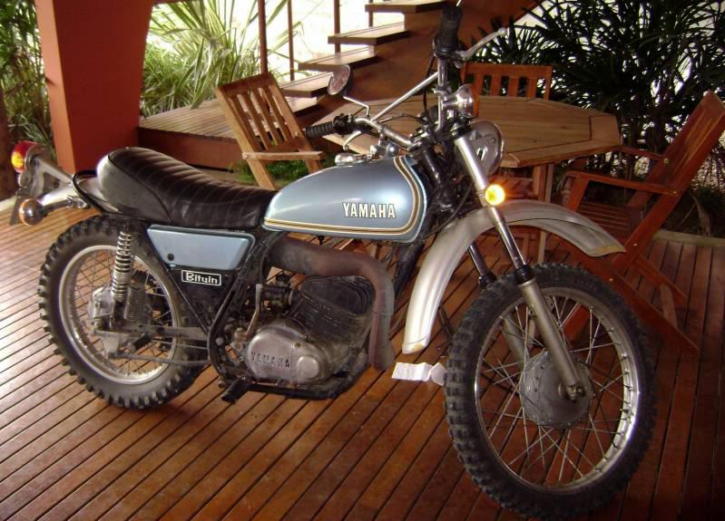 Que moto é essa que andei ? Y2