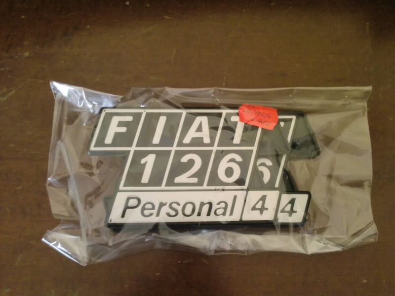FIAT vari modelli - Fanaleria e scritte di identificazione Fotografie-0056-1