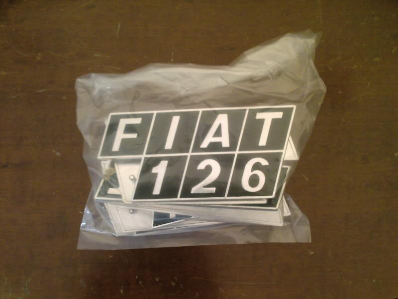 FIAT vari modelli - Fanaleria e scritte di identificazione Fotografie-0058-1