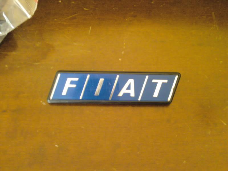 FIAT vari modelli - Fanaleria e scritte di identificazione Fotografie-0059