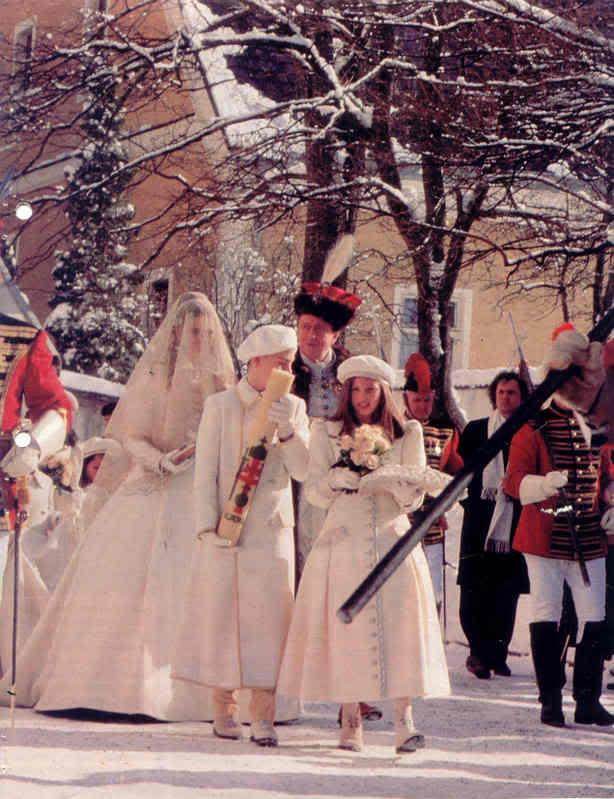 Karl von Habsburg y Francesca Thyssen-Bornemisza Bridewithfather23ec