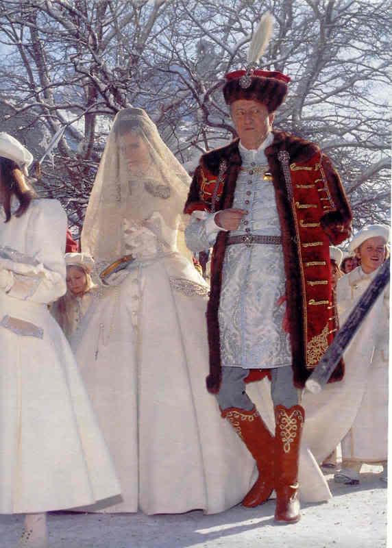 Karl von Habsburg y Francesca Thyssen-Bornemisza Bridewithfather7fi
