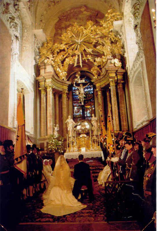 Karl von Habsburg y Francesca Thyssen-Bornemisza Wedding37dl