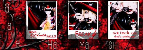 Henteko ~Strange people~ Gallery Ayame_signMadHatter