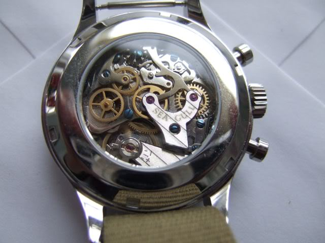 favorite watch movement. Seagullback