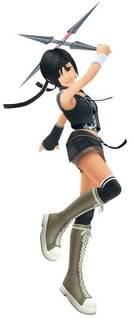 Register your RP's Character! Yuffie