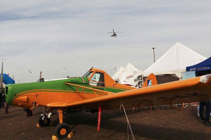 Convenio para financiar compra de aeronaves fumigadoras N208348puelche