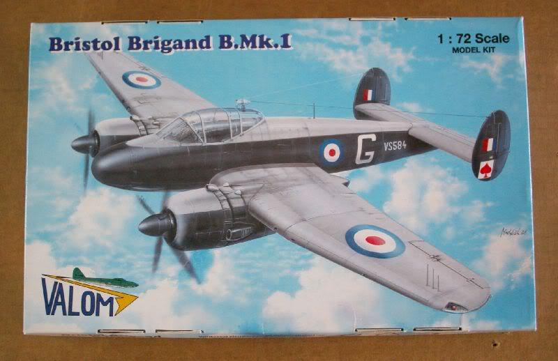 Bristol Brigand B. MkI 1/72  Valom review 50620076-1