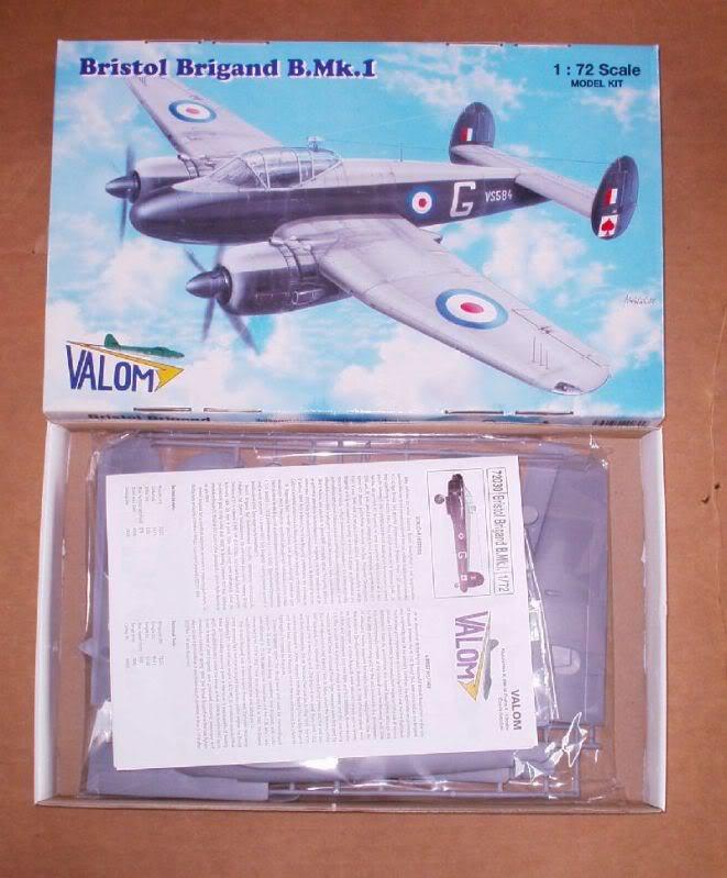 Bristol Brigand B. MkI 1/72  Valom review 50620077-2