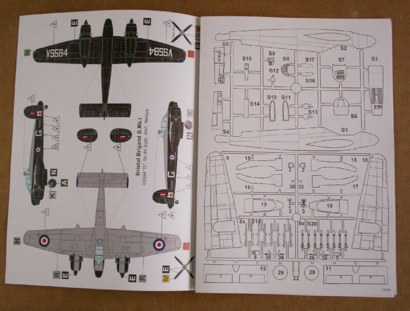 Bristol Brigand B. MkI 1/72  Valom review 50620080-2