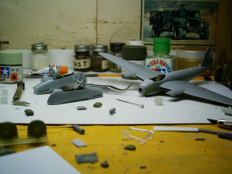 Mosquito Airfix 1/72 with some improvements 50620112-1