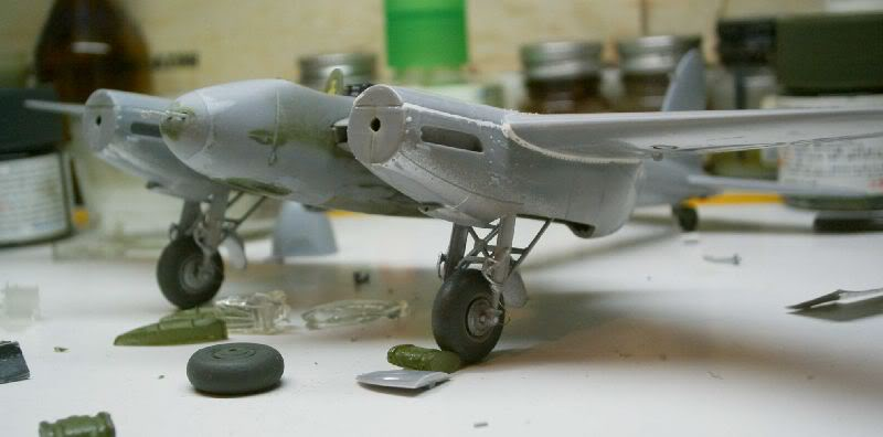 Mosquito Airfix 1/72 with some improvements 50620114-1