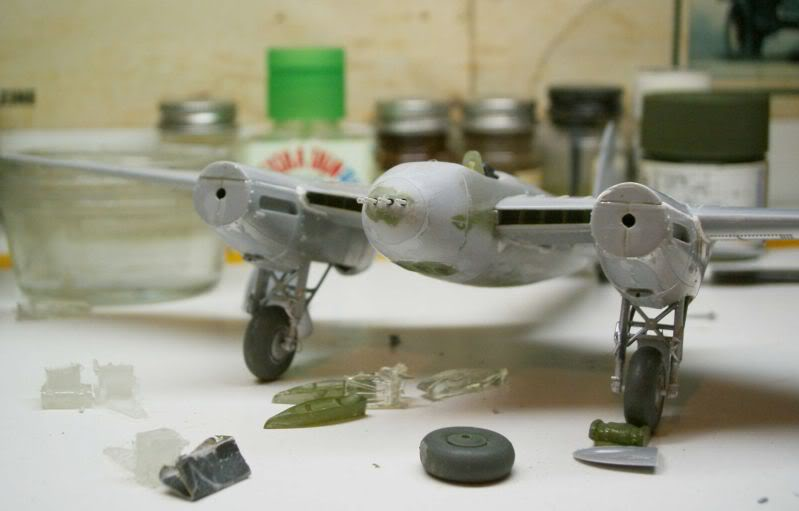 Mosquito Airfix 1/72 with some improvements 50620115-1