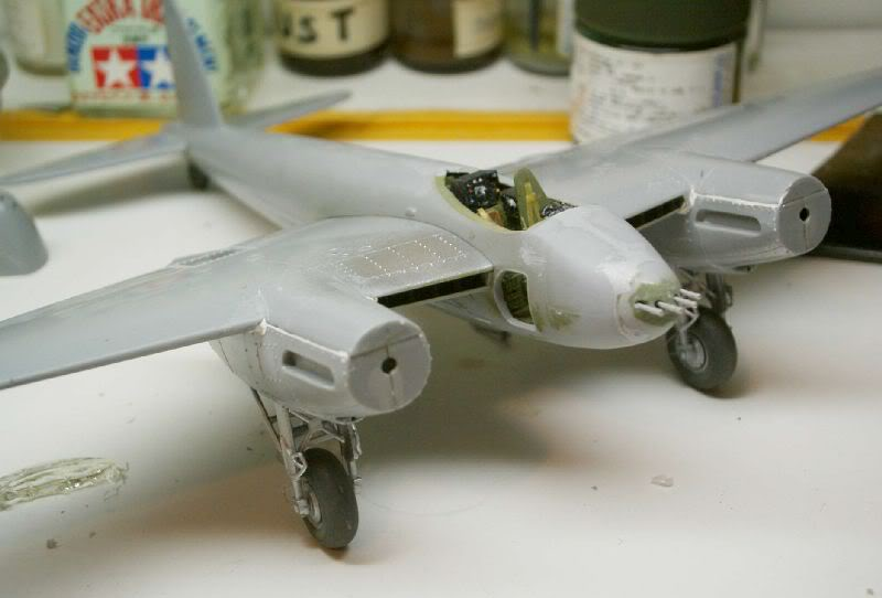Mosquito Airfix 1/72 with some improvements 50620118-2