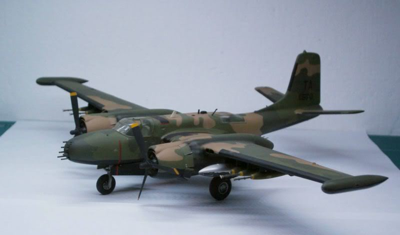 A-26 K Counter Invader Airfix 1/72 (conversion) 50620128-1