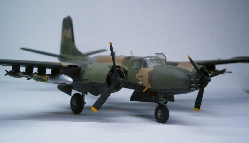 A-26 K Counter Invader Airfix 1/72 (conversion) 50620130-2