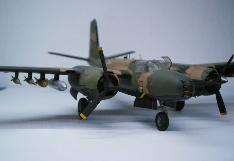 A-26 K Counter Invader Airfix 1/72 (conversion) 50620132
