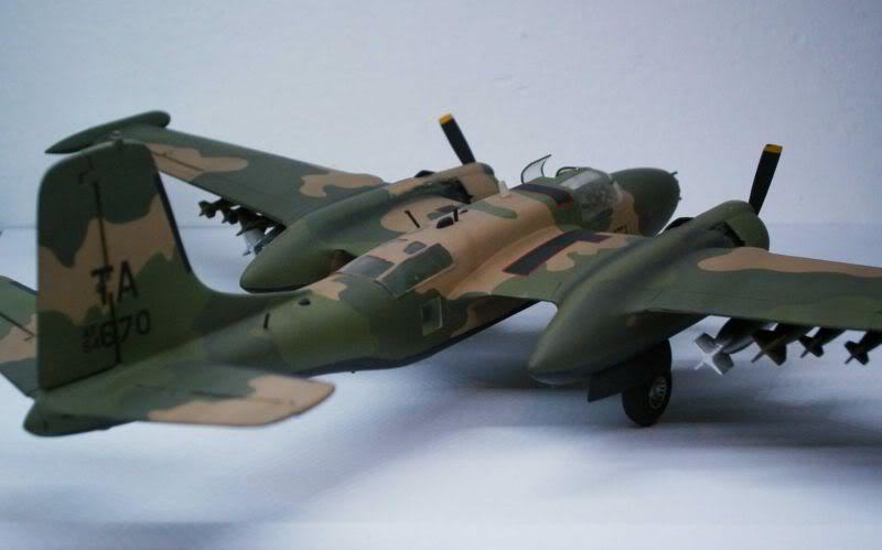 A-26 K Counter Invader Airfix 1/72 (conversion) 50620133-1