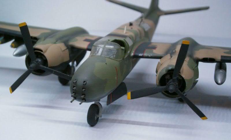 A-26 K Counter Invader Airfix 1/72 (conversion) 50620137-1