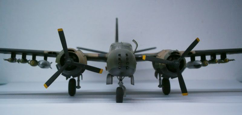 A-26 K Counter Invader Airfix 1/72 (conversion) 50620143-2