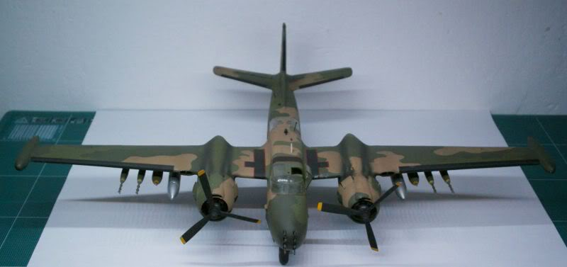 A-26 K Counter Invader Airfix 1/72 (conversion) 50620144-2