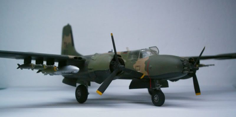 A-26 K Counter Invader Airfix 1/72 (conversion) 50620145-1