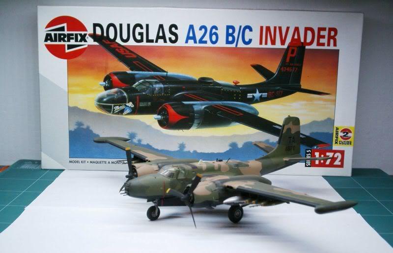 A-26 K Counter Invader Airfix 1/72 (conversion) 50620146-1