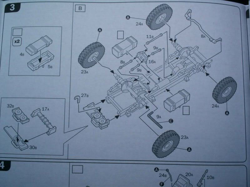 Morris Quad Tractor  & 25 PDR gun review Italeri 1/72 50620197-1