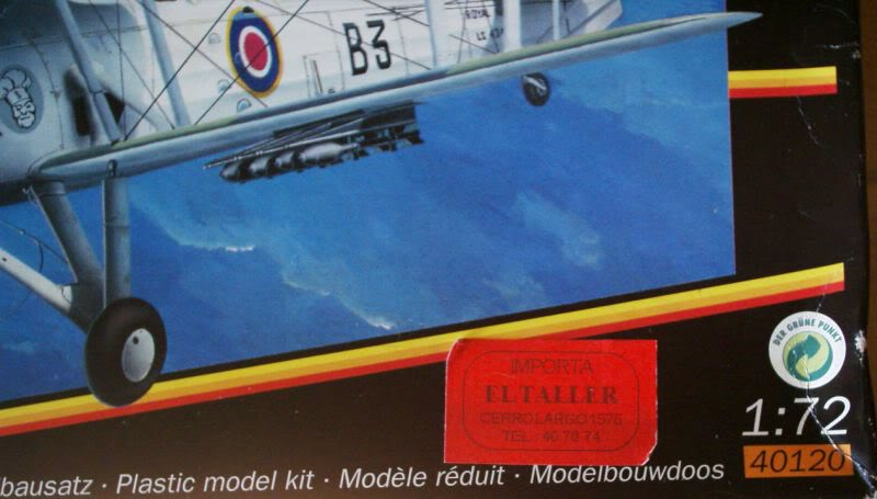 Fairey Swordfish Matchbox 1/72 50620203