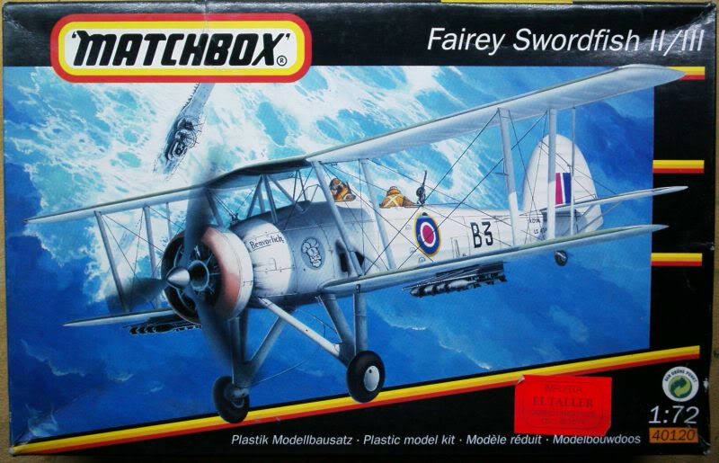 Fairey Swordfish Matchbox 1/72 50620204