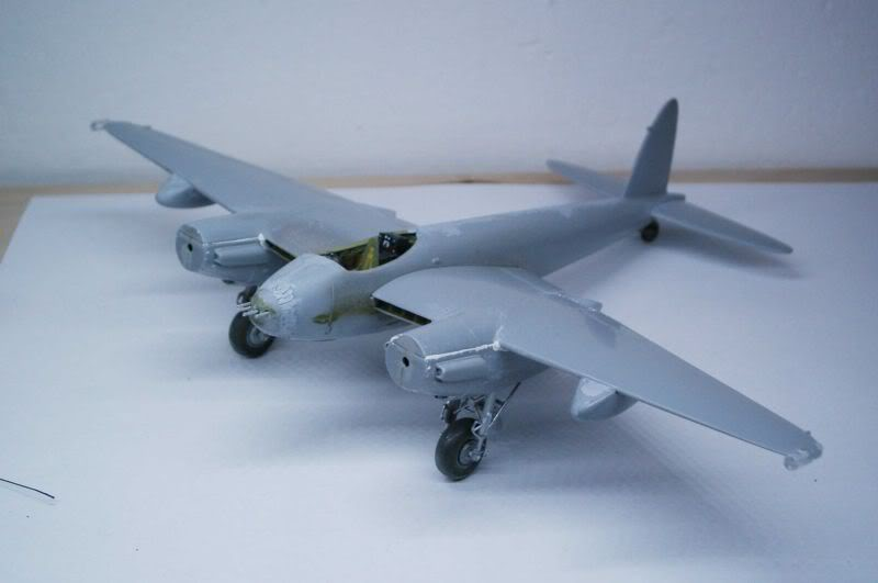 Mosquito Airfix 1/72 with some improvements 50620450-1