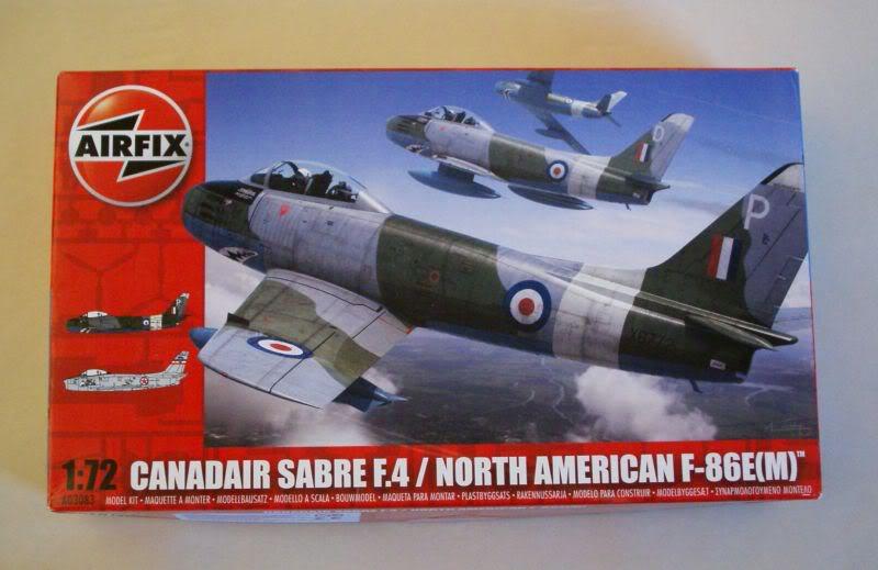 Airfix Canadair Sabre F.4 1/72 review 50620457