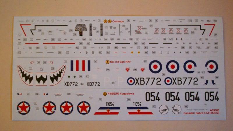 Airfix Canadair Sabre F.4 1/72 review 50620459