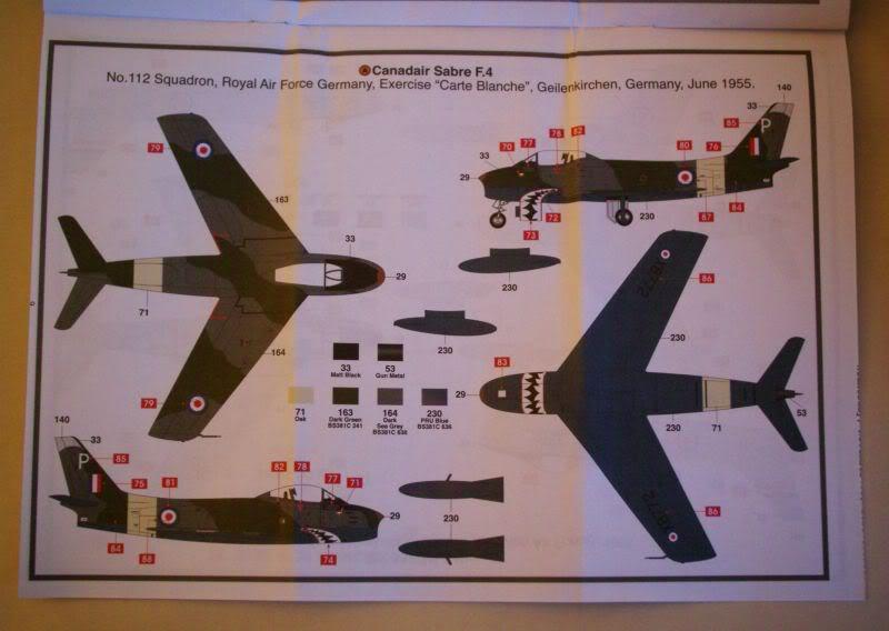 Airfix Canadair Sabre F.4 1/72 review 50620460