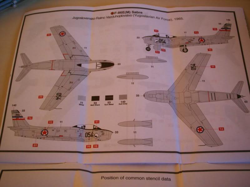 Airfix Canadair Sabre F.4 1/72 review 50620461