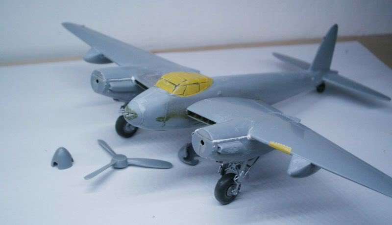 Mosquito Airfix 1/72 with some improvements 50620475