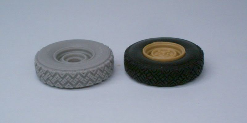 Land Rover  Wolf  W.M.I.K  G90 wheels set   Def.Model 1/35 50620506