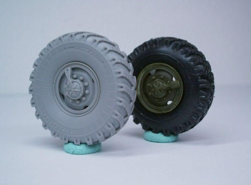 URAL  wheel set Miniarm 1/35 (early type) 50620511