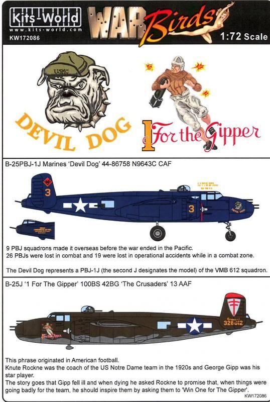 B-25 G Italeri 1/72 restauración B-25warbird_zps4eb013b3