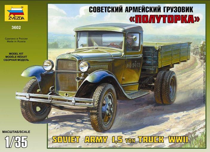 Camion GAZ AA 1/35 GAZ-AA