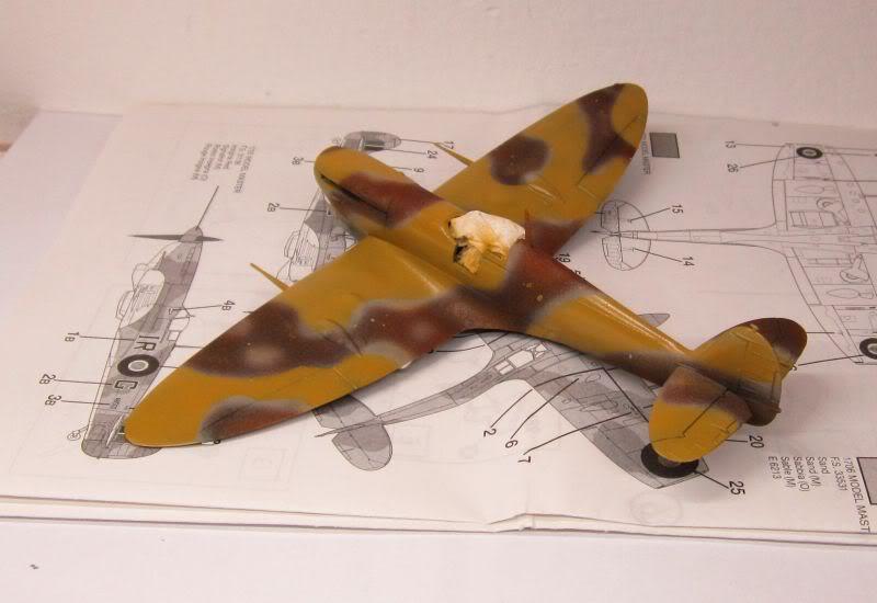 Spitfire MK V Airfix IMG_0434