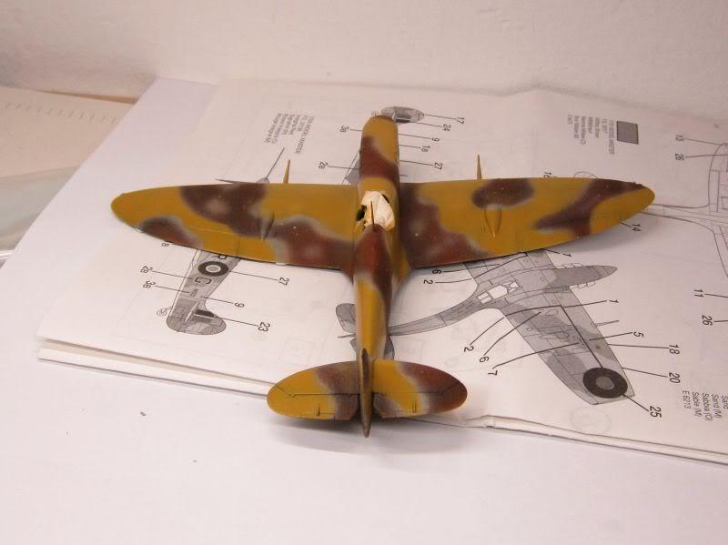 Spitfire MK V Airfix IMG_0435